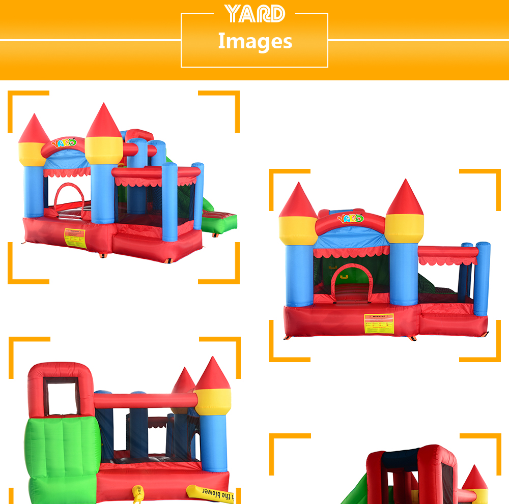 6063 Inflatable bouncy castle bouncer bounce house jumping castle_02