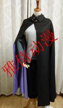 2016 Anime Naruto the Movie Uchiha Sasuke Cosplay Costume Full Set Shirt+Vest+Pants+Cape+Gloves