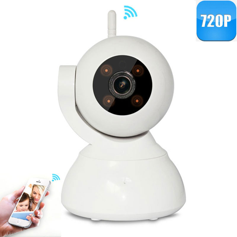 INQMEGA 2016 New 720P Mini WIFI IP Camera Wireless Alarm Home Security CCTV Camera Surveillance with Night Vision<br>