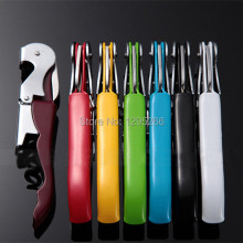 1PC Waiter's Wine Tool Bottle Opener Corkscrew Knife Pulltap Double Hinged Corkscrew Opener FZ2417 8UHw