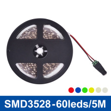 LED Strip Light SMD3528 60LED/m 5m Non-waterproof LED Ribbon 12V DC LED Tape Flexible Lights for Home Decoration