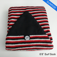 Surfing Surfboard Sock 6ft-10ft 12 Sizes of Knit Surf Sock Stretch Terry Surf Quick-dry Board Sock