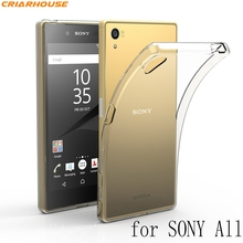 Clear Transparent back cover TPU phone case For Sony Xperia XA X  XA1 Ultra XP XZ M2 M4 M5 T3 Z4 Z1 Z5 Compact C3 C4 C5 E4 G