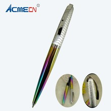 Unique Design Colorful Ball Pen 40gram Metal Heavy Fashion Ballpoint Pen Exclusive Men's Gifts Office Writing Instruments1694B