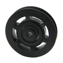 Wholesale 10* 95mm Black Bearing Pulley Wheel Cable Gym Equipment Part Wearproof