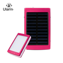 Buy Ularmo solar power bank 20000mAh LED Dual USB Portable Solar Battery Charger Power Bank Cell Phone cargador solar charger for $10.70 in AliExpress store