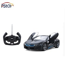 RC Car 1:14 Brand Car Model i8 Model Auto Open Door With USB Charger Remote Control Vehicle Electronic RC Car Toy Collection
