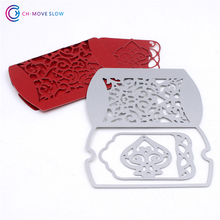 Greeting card Metal Cutting Dies Stencil Template Bookmark Scrapbooking Card Photo Album Painting Embossing DIY Metal Craft(China)