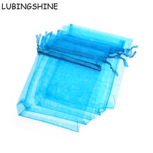 LUBINGSHINE 10X15 11X16 13X18 15X20CM Fashion Jewelry Gift Bags Candy Bag Wedding Bracelet Necklace Ring Drawstring Pouches(China)