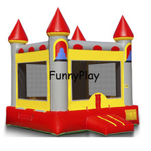4.5*4m air bounce castle,palm tree adult moonwalk castles inflatables,bouncy castles house,inflatable backyard bouncers(China)