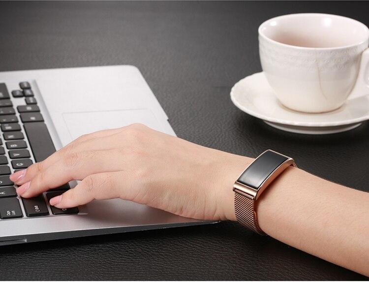 Microwear X3 IP68 Waterproof smart fitness bracelet pedometer blood pressure smart wristband Android iOS fitness tracker 10