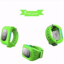 Best Buy On The Market Kid Phone Wrist Watch Kids Tracker Watch GPS(China)