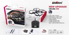 UDI Upgrade U818A HD U818AHD 720P Video Camera RC Quadcopter 4Ch 6-Axis Gyro(China)