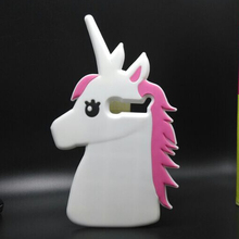 For Alcatel One Touch Pop C5 Case 3D Cartoon unicorn Silicone Cover Casing Phone case For Alcatel One Touch Pop C5 OT5036 5036D