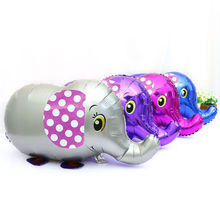 Elephant Explosion Models Recommended! Children's Toys Wholesale Pet Balloon Walking Obediently 60*40cm(China)