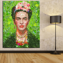 xdr152 printing Wall Art Canvas Impressionist oil paintings poster and print canvas for living room frida kahlo