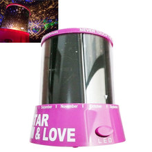Romantic Cupid Heart Night Light Star Projector Cosmos Constellation Lamp Creative Gift  Sale CLH