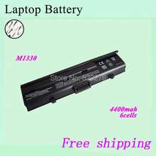 Laptop battery For DELL  XPS M1330 laptop battery UM230 PU556 PU563 CR036 TT485 0CR036 WR053 0WR053 312-0567