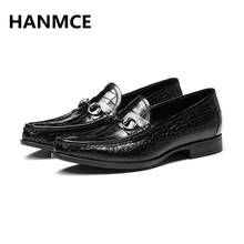 Oxford,2018 NEW Fashion Genuine Leather High Quality Wedding and Party Even dress shoes brand designer formal business men shoes(China)