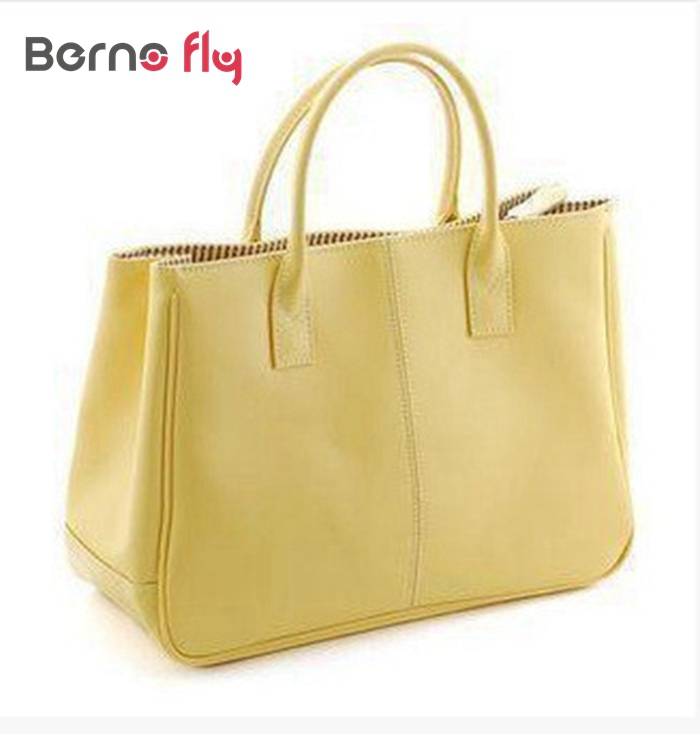 2017 Hot Selling PU Fashion women leather Handbag 10 colors Classic candy color womencasual tote solid zipper shoulder bags<br><br>Aliexpress