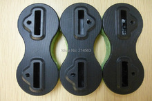 Black surfboard fin box Nylon/Plastic fin plugs Fcs fushion fin box(China)