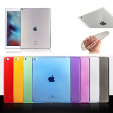 "For Apple iPad 2/3/4 9.7"" TPU Soft Case Cover Crystal Clear Transparent Ultra Thin Tablet case For iPad 2 iPad 3 iPad 4"
