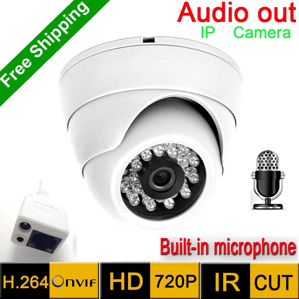 Hot sales Mini IP Camera 720P  HD Network P2P CCTV Camera Mega pixel indoor Network IP Camera ,ONVIF H.264 cam infrared<br>