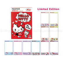Limited Edition Fujifilm Instax Mini 8 Film 10pcs Hello Kitty Photo Paper For Polaroid 8 50s 7s 90 25 Share SP-1 Instant Camera