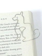 Custom Name Cat Bookmark Planner Clip animal shaped Paperclip Personalized Book Accessories Teacher's gifts Movie Music