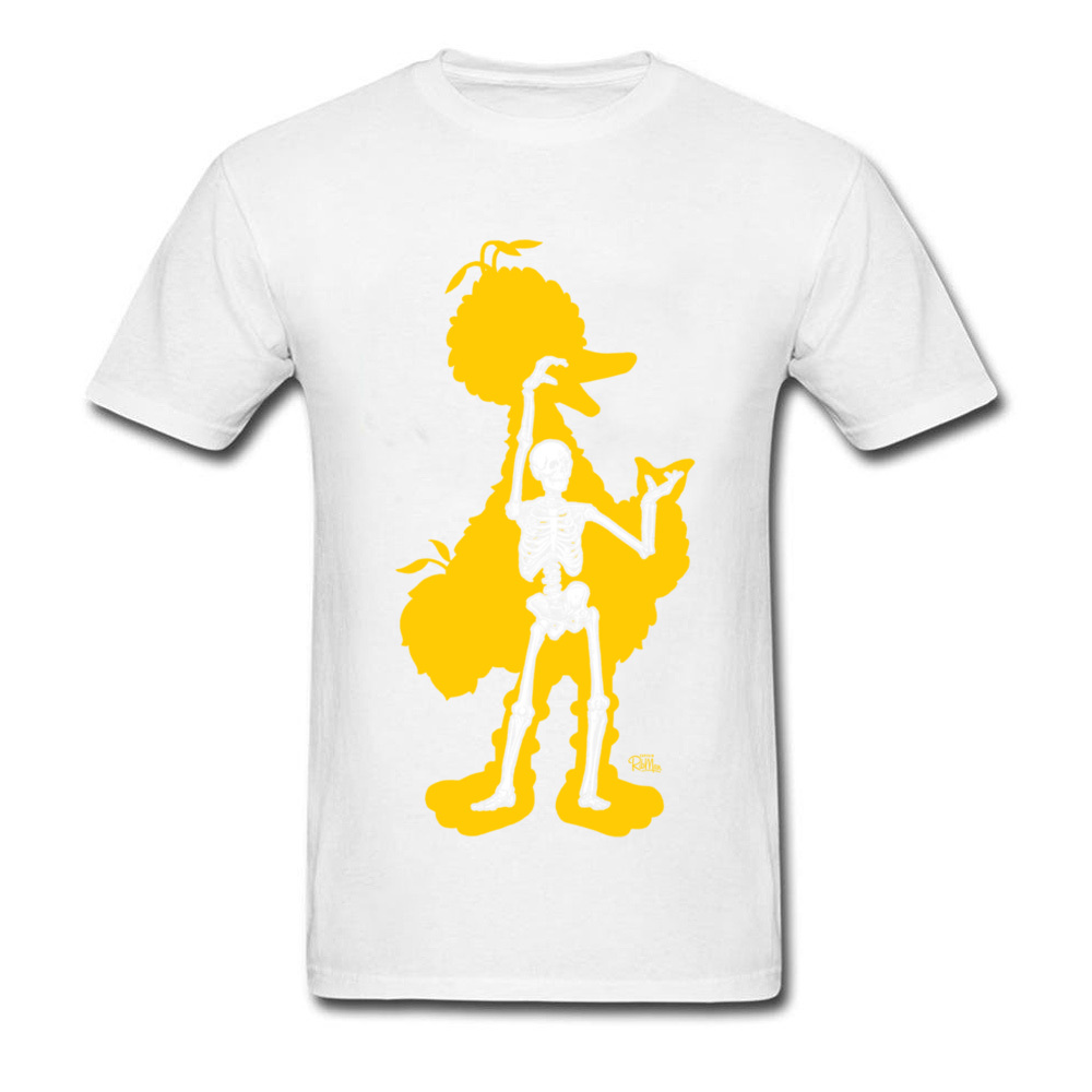bird x ray 11689 Men Funky Tops & Tees Round Neck Summer Fall 100% Cotton Fabric T-Shirt Normal Short Sleeve Tee Shirts bird x ray 11689 white