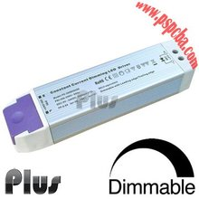 Triac constant current 50W 700mA dimmable led driver with Aluminium housing, 43~70VDC