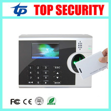 Good quality webserver biometric fingerprint time attendance with RFID card reader linux system employee attendance system(China)