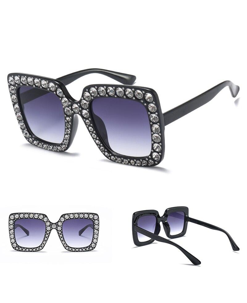 rhinestone sun glasses for women luxury brand 7080 details (3)