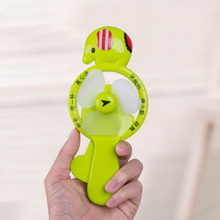 1Pcs/lot Kid Toy Fan Portable Cute Lovely Mini Hand Pressure Fans Baby Children Kids Toys Present(China)