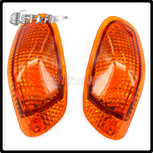 Motorcycle Turn Signal Light Lens Blinker For KAWASAKI ZZR1100 ZZR 1100 ZX-11 1993-1999 1993 1994 1995 1996 1997 1998 1999