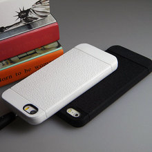 case for iphone 5 5S SE rubber soft TPU material luxurious leather pattern Anti slip design top quality case skin