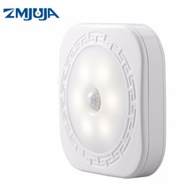 Newest Battery Operated led Night Light, Led Lamp with Motion Sensor Induction Lamp For Closet Corridor Cabinet(China)