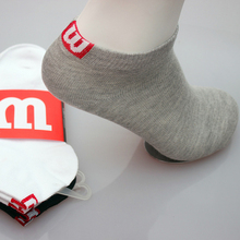 drop shipping Men socks Cotton boat socks towel bottom socks short tube concise high quality M socks