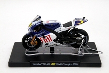 1:18 Scale Yamaha YZR-M1 46 World champion 2009 Models Diecast Toys Cars Hobbies Collection(China)