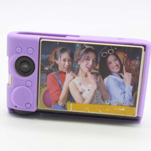 Soft comfortable sliicone camera case cover Protector for EX-ZR3600 ZR3500 ZR3600 bag purple case
