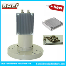 heat sink type twin output C Band LNB 5150mhz for South America market