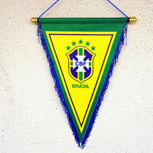 Brazil Countries Hanging Flag Banner National Pennants world cup football game exchange flag Bar Decor Gifts for men