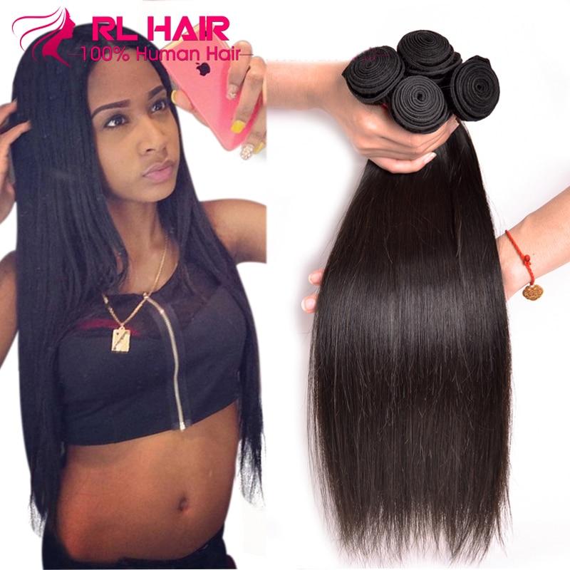 Grade 7A Brazilian Virgin Hair Straight 4 bundles Brazilian Hair Weave Bundles Cheap Remy Human Hair Extensions no shedding<br><br>Aliexpress