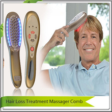 IPL Laser Hair Regrowth Massager Vibrator Comb For  Electric Scalp Stimulator Hair Loss Hair Growth Treatment