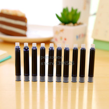 Box pack 10pc BLUE Fountain Pen Ink refill Converter Pump 3.4mm Cartridges Pen refill