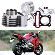 Buy DWCX 47mm Big Bore Kit Cylinder Piston Rings GY6 50cc 60cc 80cc 4 Stroke Scooter Moped ATV 139QMB 139QMA engine for $28.70 in AliExpress store