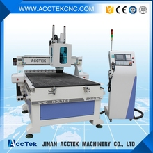 High speed linear atc syntec atc cnc router automatic tool change spindle cnc wood design machine