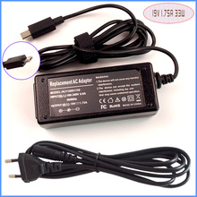 Laptop Netbook Ac Adapter Power Supply Charger 19V 1.75A For ASUS VivoBook E200 E200H E200HA-US01-GD E200HA-US01-BL