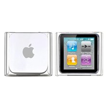 CLEAR CRYSTAL HARD SHELL SKIN CASE COVER FOR iPod NANO 6 6th Gen 8GB 16GB