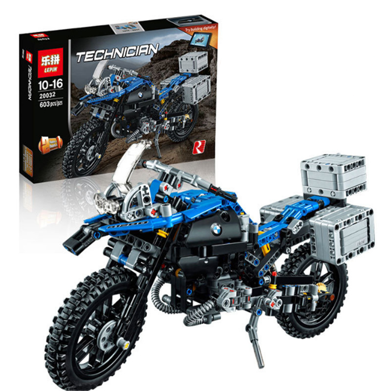 Lepin 20032 603pcs Technic Series The BAMW Off-road Motorcycles R1200 GS Building Blocks Bricks Educational Toys 42063<br><br>Aliexpress